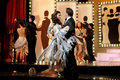 Dancing on Stage, Musical Play, Theater Interior, Actors Couple