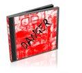 Danger cd Royalty Free Stock Photo