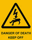 Danger of Death Royalty Free Stock Photo