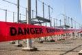Danger high voltage Royalty Free Stock Image