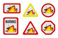 Danger nature - conflagration, wildfire Royalty Free Stock Image