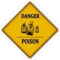 Danger poison Royalty Free Stock Photo