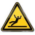 Danger And Risk Of Slipping