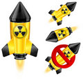 Danger rocket Stock Image