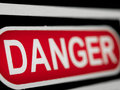 Danger sign Stock Photo