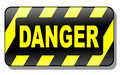 Danger Sign 3d Stock Photo