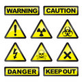Danger signals Royalty Free Stock Photo