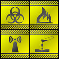 Danger signals Stock Photography