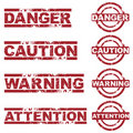 Danger stamps