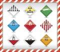 Danger symbols Royalty Free Stock Photo
