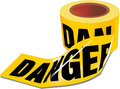 Danger Tape Royalty Free Stock Photos