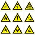 Dangerous warning signs Royalty Free Stock Photo
