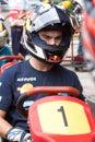 Dani Pedrosa at the Moto GP 22 Oct 09 Royalty Free Stock Photo