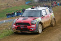 Dani Sordo (ESP) driving is Mini Cooper Works WRC Stock Image