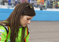 Danica patrick start subway fresh fit nascar sprint cup race phoenix arizona usa Stock Image