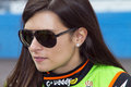 Danica patrick start subway fresh fit nascar sprint cup race phoenix arizona usa Royalty Free Stock Image