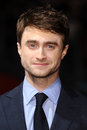Daniel radcliffe the kills arrives for kill your darlings premiere as part of bfi london film festival at odeon west end london Royalty Free Stock Image