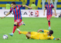 Daniel stanciu of steaua bucharest pictured in action during the romanian supercup between bucharesta and petrolul ploiesti Stock Image