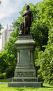 Daniel webster statue in central park new york photo of was a leading american senator and statesman during the era Royalty Free Stock Images