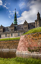 Danish castle kronborg image of the of also called hamlets located in helsingor Royalty Free Stock Images