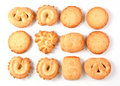 Danish cookies Royalty Free Stock Photos