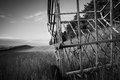 Danish countryside - farming idyl Royalty Free Stock Photo