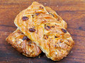 Danish pastry maple pecan Royalty Free Stock Photos