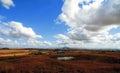 DANNHAUSER, SOUTH AFRICA - JUNE 2013: Landscape of informal rural Royalty Free Stock Photo