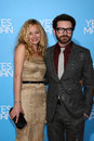 Danny masterson bijou phillips arriving at the la premiere of yesman at the mann s village theater in westwood ca on december Stock Images