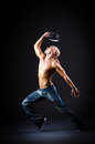 Danse de danseur Photo stock