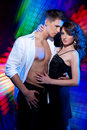 Danse latine de danse de couples Photos stock