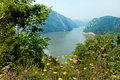Danube canyon Stock Photography
