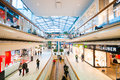 Danube Center shopping mall (Donau Zentrum) in Vienna, Austria Royalty Free Stock Photo