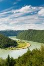 Danube river Royalty Free Stock Photo