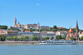 Danube river embankment in Budapest Royalty Free Stock Images