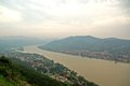Danube view (Hungary) Royalty Free Stock Photos
