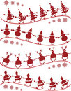 Danza de la Navidad Fotografía de archivo libre de regalías