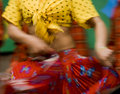 Danzatore zingaresco Immagini Stock