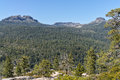 The dardanelles in the sierra nevada range cone along sonora pass california Stock Images