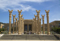Darioush winery in napa valley ca april on april the first america to combine architecture design Stock Photo