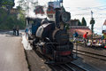 The darjeeling toy train himalayan railway is a world heritage site also known as is a ft mm narrow gauge railway that runs Royalty Free Stock Photos