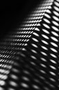 Dark abstract shadow light dots lines composition art photograph Royalty Free Stock Photo