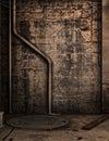 Dark alley Royalty Free Stock Photo