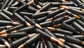 Dark ammo black and orange background Royalty Free Stock Photos