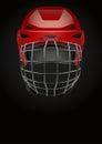 Dark Background of ice hockey. Vector Illustration