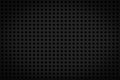 Dark black regular plastic texture for background Royalty Free Stock Photography
