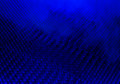 Dark blue abstract background smokey honeycomb Royalty Free Stock Photo