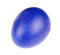 Dark blue easter egg Royalty Free Stock Photo