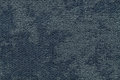 Dark blue fluffy background of soft, fleecy cloth. Texture of light nappy textile, closeup. Royalty Free Stock Photo