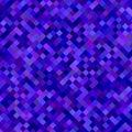 Dark blue square pattern background design Royalty Free Stock Photo